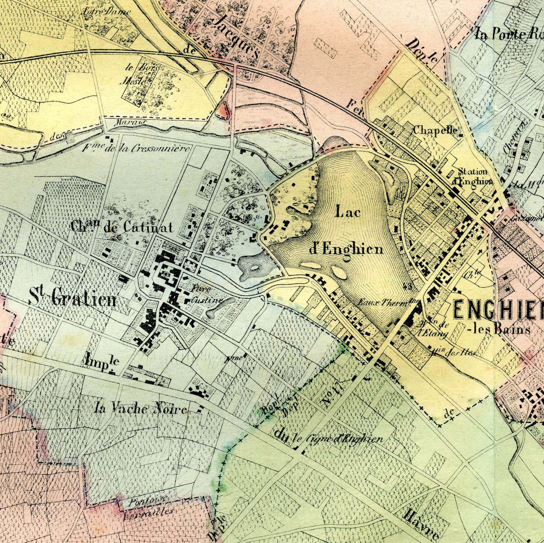1860 Enghien Barba detail